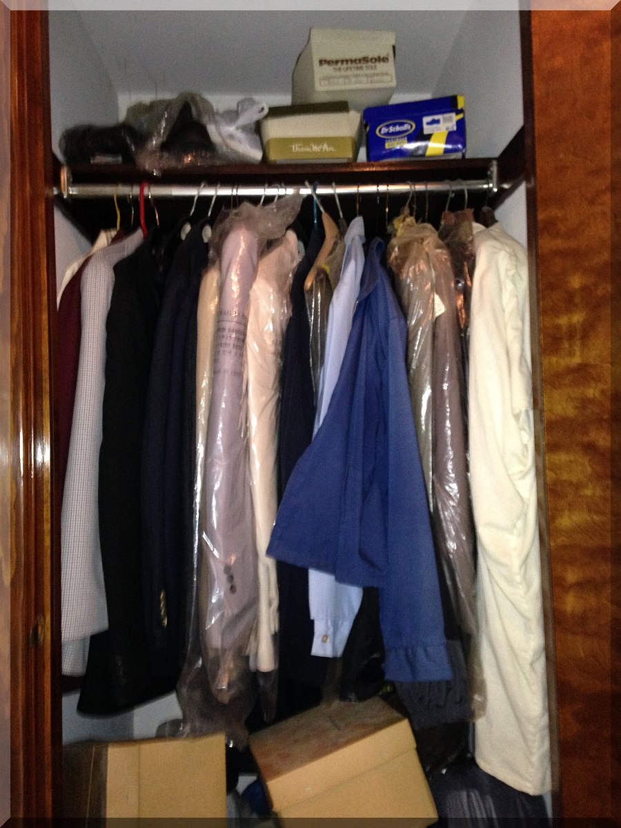 Andrews Estate Service Household Liquidation Specialists Hall Clothes Closet  Marilla NY 14201 Cluttered ...
