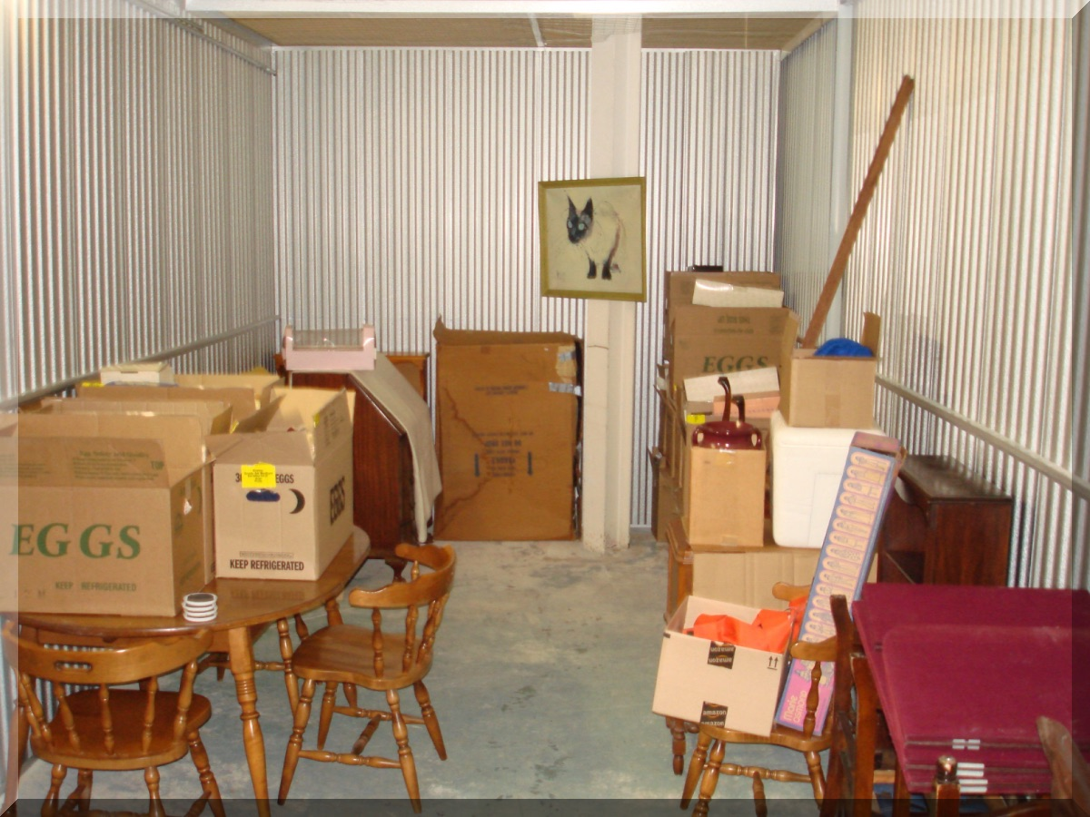 Andrews Estate Service Household Liquidation Specialists Storage Unit 10x25 West  Seneca NY 14224 Cluttered ...