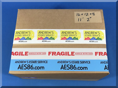 Andrews Estate Service AES86 Chess Set Packaging