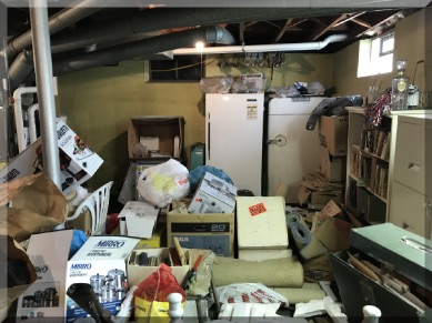 Andrews Estate Service Household Liquidation Specialists Basement Furnace Tonawanda NY 14150 Cluttered