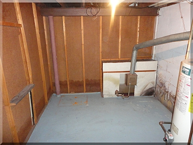Andrews Estate Service Household Liquidation Specialists Basement Storage Utility Room Emptied