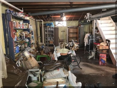 Andrews Estate Service Household Liquidation Specialists Basement Tonawanda NY 14150 Cluttered