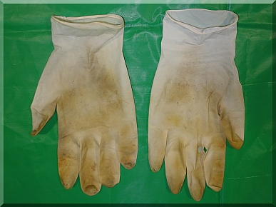 Andrews Estate Service Gloves Dirty