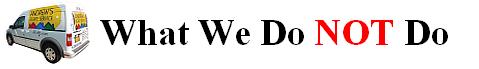 AES86.com What We Do NOT Do